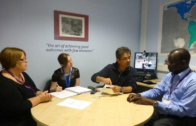 Sanyu Research Unit Team meeting